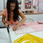 תיק עבודות קורס נערות בית ספר לתפירה אילנה ברטל